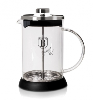 Konvička na čaj a kávu french press 800 ml nerez BERLINGERHAUS BH-6303